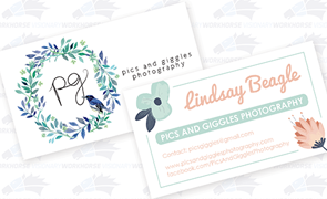 Pics & Giggles Business Card