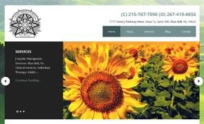 J Snyder Therapeutic Custom Website design