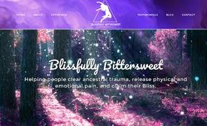 Blissfully Bittersweet Website design